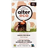 Alter Eco Salted Almond Chocolate Bar - Grass Fed Milk, 75 Gram