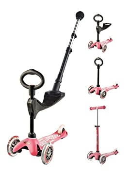Mini 3in1 Push Bar Deluxe - Rose: Amazon.es: Juguetes y juegos