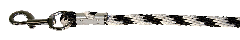 Plata//Negro//Blanco Kerbl Cuerda del Plomo Mustang mosquet/ón-Ganchos 321423