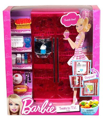Barbie mobilier basique nouveau r frig rateur de mattel for Barbie chien piscine