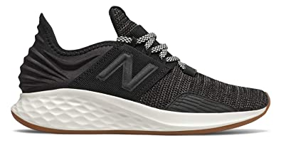 check out 3d059 f8764 New Balance Women s Roav V1 Fresh Foam Running Shoe Black SEA Salt 9.5 D US