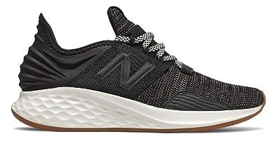big sale 03650 dec22 New Balance Women s Roav V1 Fresh Foam Running Shoe Black SEA Salt 9.5 ...