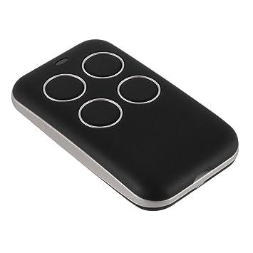 Kreema Llave multifrecuencia Fob 433 868 315 MHz Universal Garage Door Cloning Control remoto Codigo fijo Rolling Code Duplicator Black: Amazon.es: ...