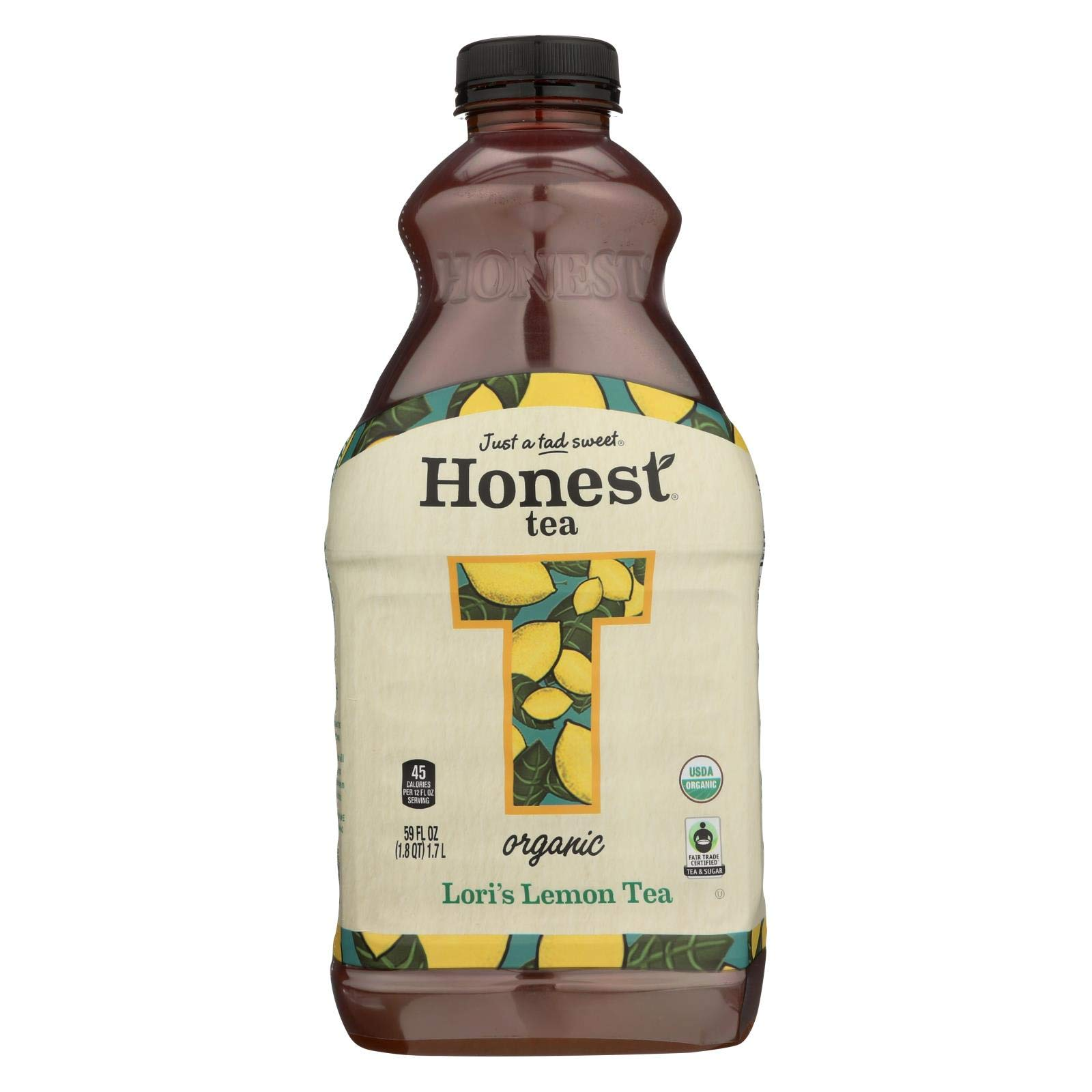 Honest Tea Loris Lemon Tea, 59 Fluid Ounce - 8 per case. by Honest Tea