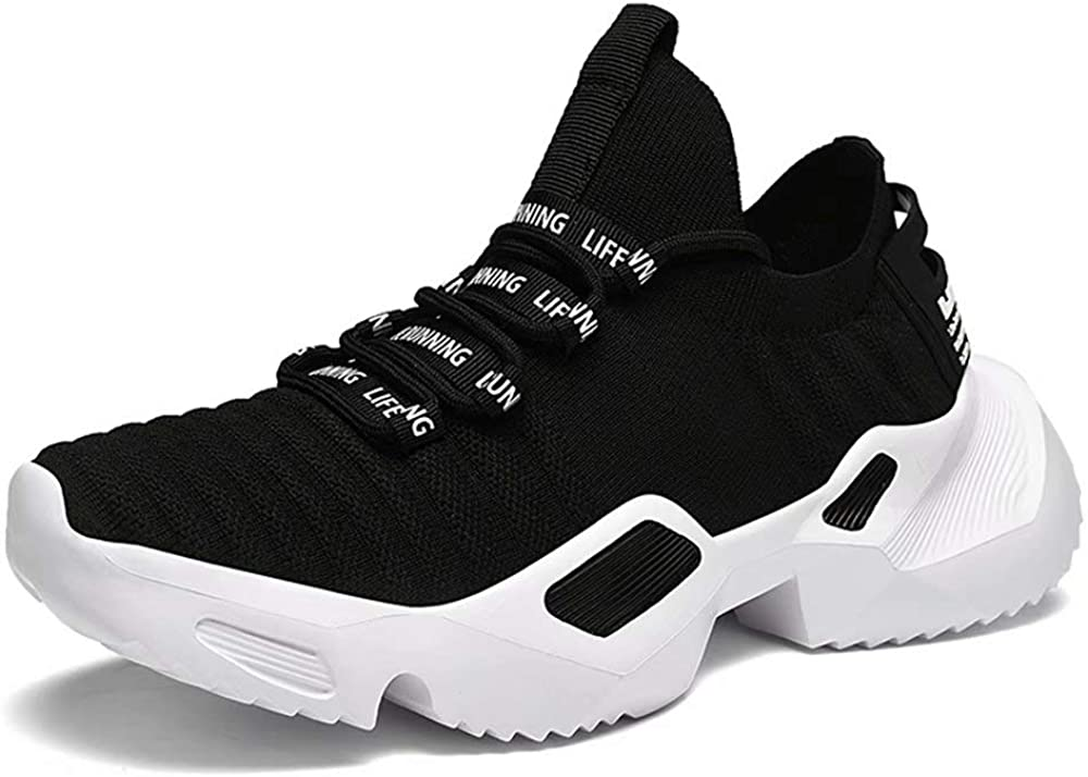 GSLMOLN Men s Casual Sports Shoes Comfortable Lightweight Breathable Walking Shoes