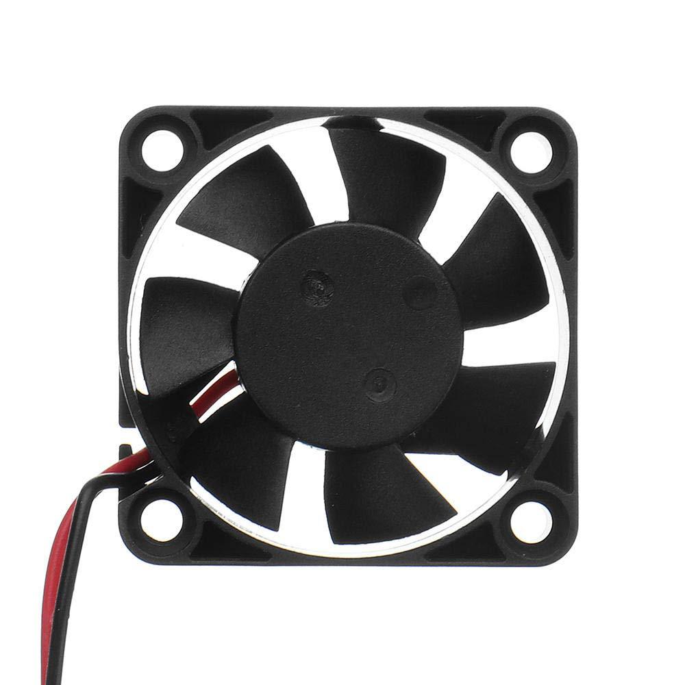 40 x 40 x 10 mm 24 V de alta velocidad DC 4010 boquilla de ventilador de refrigeraci/ón para impresora 3D Ender-3