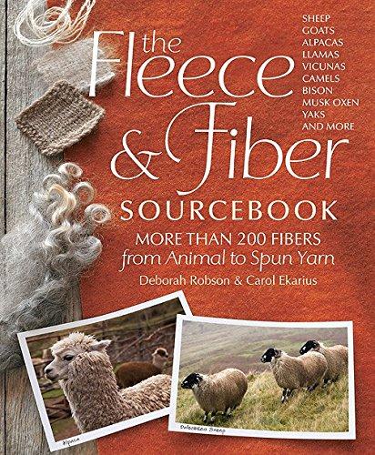 Fleece & Fiber Sourcebook by Workman