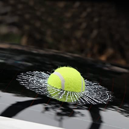 Pegatina en 3D para autos, Bshine, diseño de pelota de tenis ...