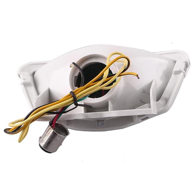Señales de giro de luces traseras LED integradas GZYF Fit ...