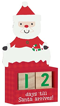 How Many More Days Until Christmas.C R Gibson Gibby And Libby Here Comes Santa Claus Christmas