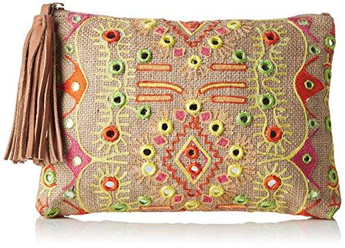 Antik Batik Hudson, Poschette Giorno Donna Multicolore Multicolore(Multico) 1x19x27 cm (W x H x L)