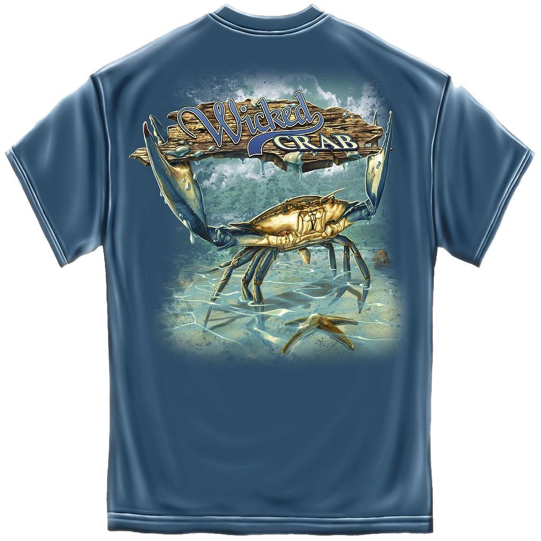 Erazor Bits Wicked Crab And Starfish T-shirt