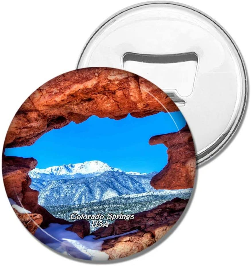 Weekino Fridge Magnets USA America Garden of The Gods Twin Sisters Colorado Springs Bottle Opener Beer Magnet Travel Souvenir Collection Gift