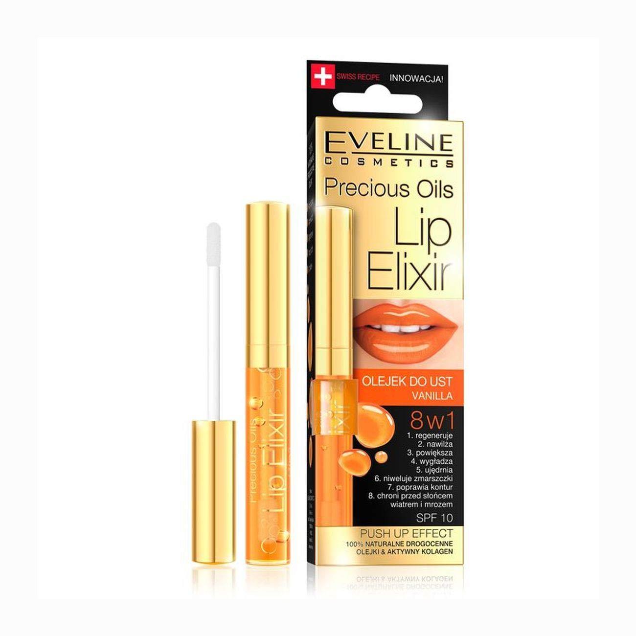 Eveline Cosmetics Lip Elixir 8-in-1 Push-Up Effect SPF10 Vanilla 7ml