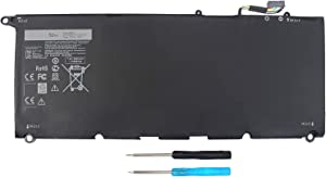 XPS 13 9350 9343 JD25G 90V7W Battery for Dell XPS13 XPS 13 9343 9350 P54G JHXPY JHXPY53 5K9CP DIN02 090V7W 0DRRP RWT1R 0RWT1R 0N7T6 XPS13D-9343-1708 13D-9343-3708 13-9350-D1508G
