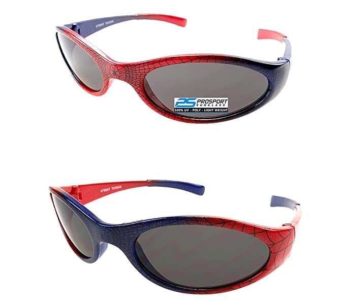 Amazon.com: 2 pares de Spiderman – Gafas de sol Para Niños ...