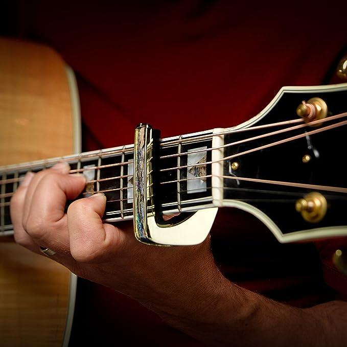 Thalia Capos 200 Serie Profesional Guitarra Cejilla W/14 fretpads ...