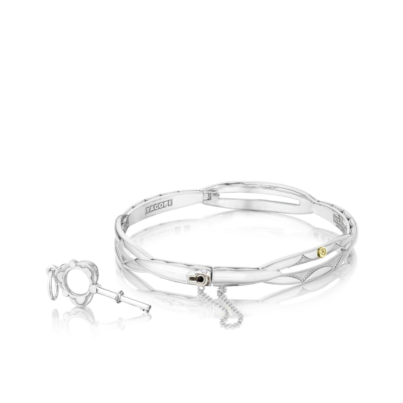 Tacori SB177-M Sterling Silver Promise Bracelet, Size Medium