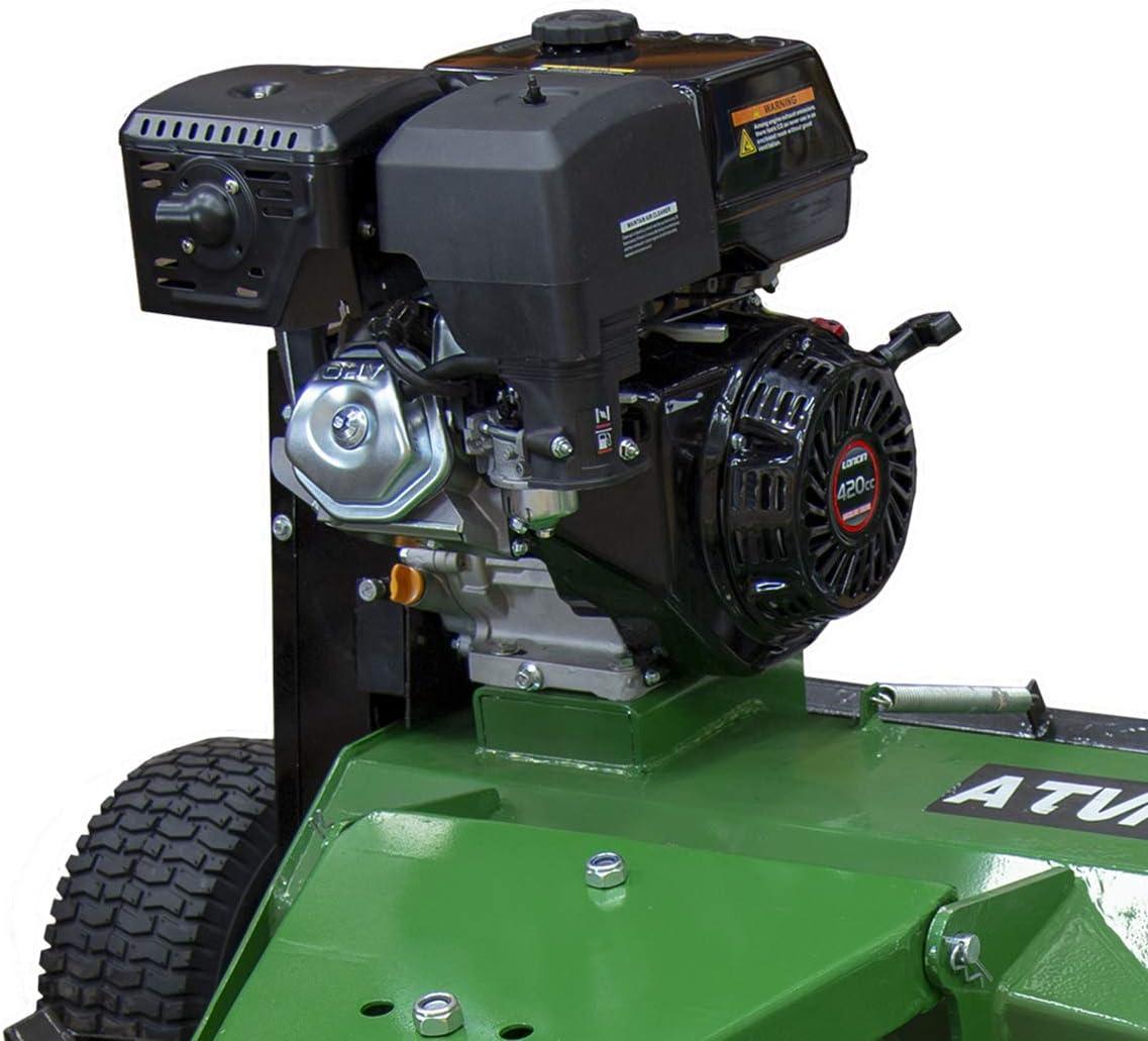 Desbrozadora para ATV Loncin 15 CV con gasolina con altura de corte 1, 2 m: Amazon.es: Jardín