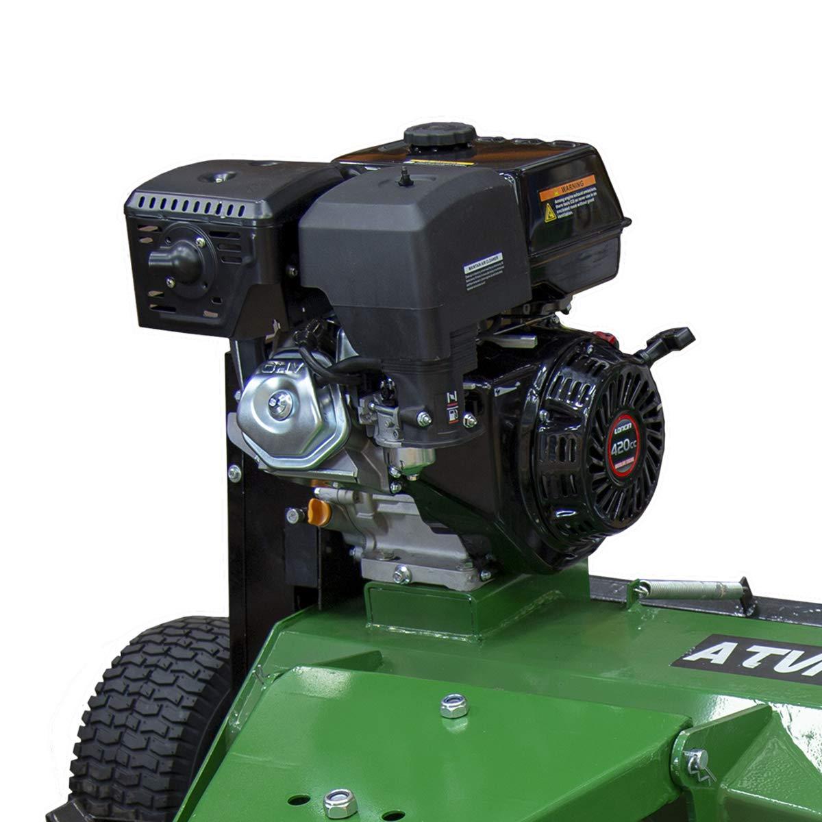 Charles Bentley Loncin a Gasolina Atv Pequeños Tractores & 4 X 4S Segadora Acero - 1,2 M 15Hp
