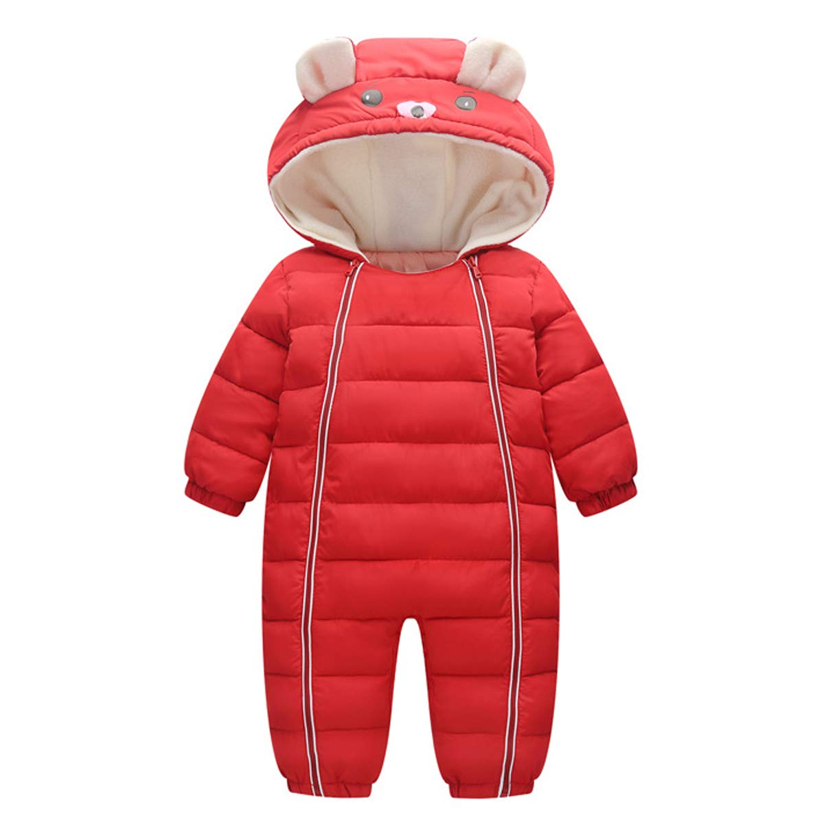 Bebone Baby Snowsuit Boy Girl Romper Jumpsuit Winter Clothes