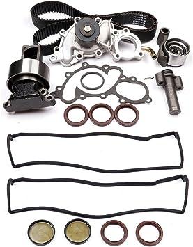 ECCPP Timing Belt Water Pump Tensioner Kit Fits 1993-1995 Toyota 4Runner Pickup T100 3.0L 2958CC V6 SOHC 12V 3VZE