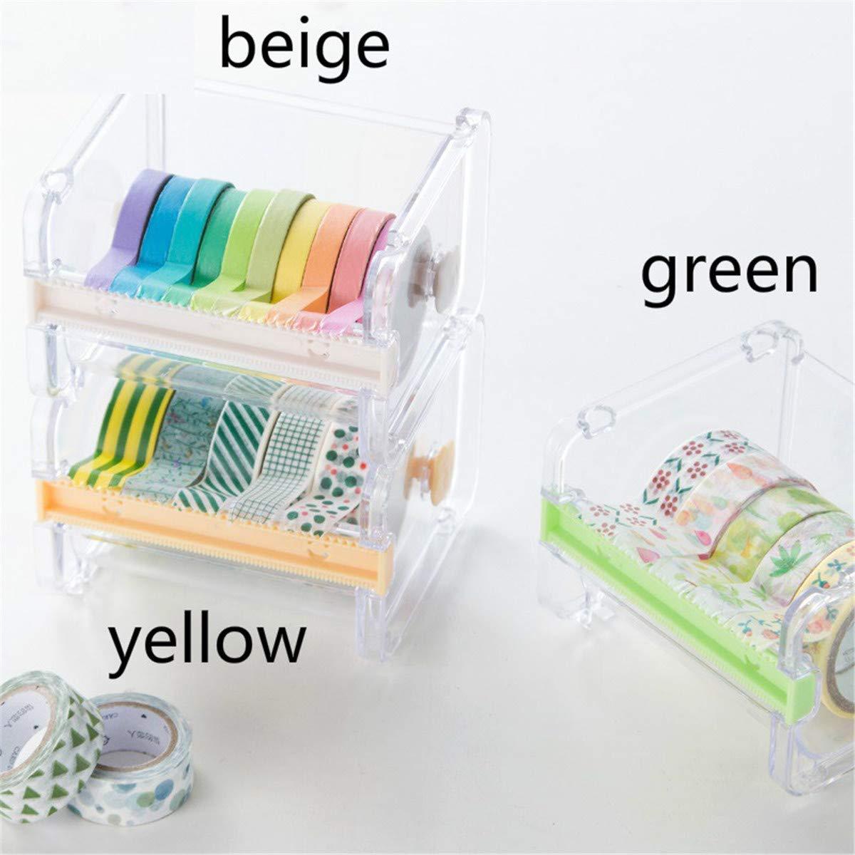 cinta adhesiva//cortadora de cinta transparente de escritorio con dispensador de cinta visible Decorativo decorativo japon/és Washi