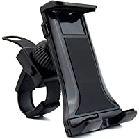 DHYSTAR Indoor Cycling Bike Mount, Tablet Cell Phone Holder Mount Bracket Stand for Stationary Gym Handlebar on Spin…