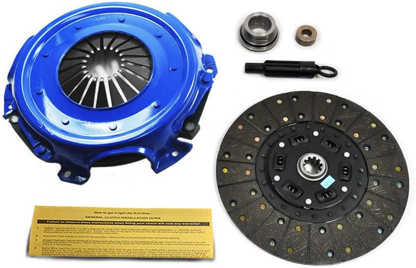 EFT STAGE 2 CLUTCH 11 KIT WORKS WITH 84-87 FORD BRONCO F-SERIES 4.9L 5.0L 5.8L OVER 8500GVW