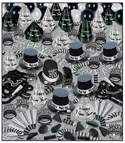 Silver Bonanza Asst for 100 Party Accessory (1 count)]()