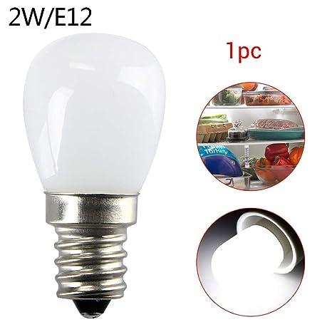 hgfter 1pc 220V 2W E12LED Nevera Congelador Luz Blanca ...