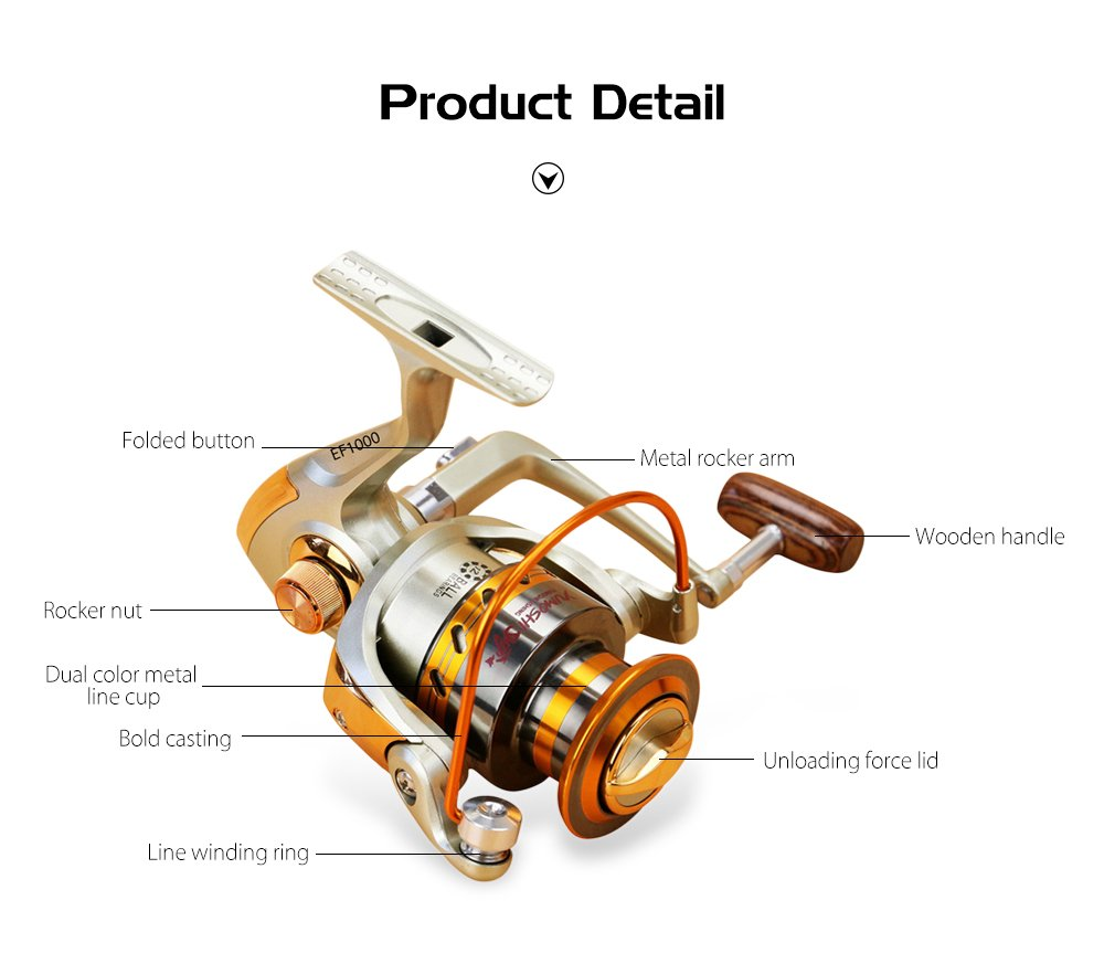 X-CAT 4000 spinning reel