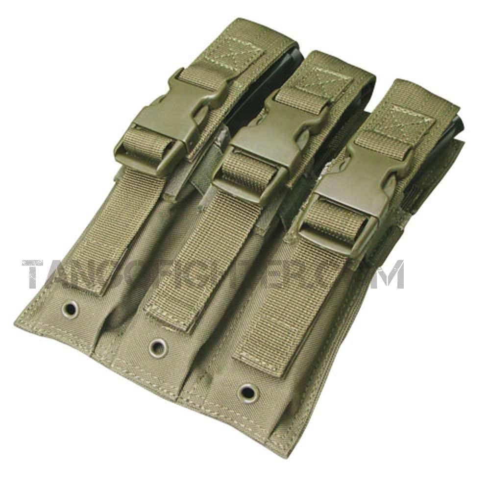 Condor MA37-001 Triple MP5 mag Pouch OD: Amazon.es: Deportes y ...