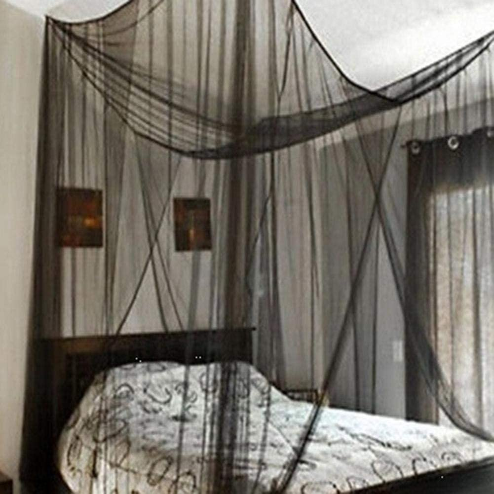 sobredimensionadas Cortina 190/×210/×240CM Cuatro Lados Fibra de poli/éster Mosquito Kitabetty Mosquitera Forma de Apertura mosquiteras para el hogar
