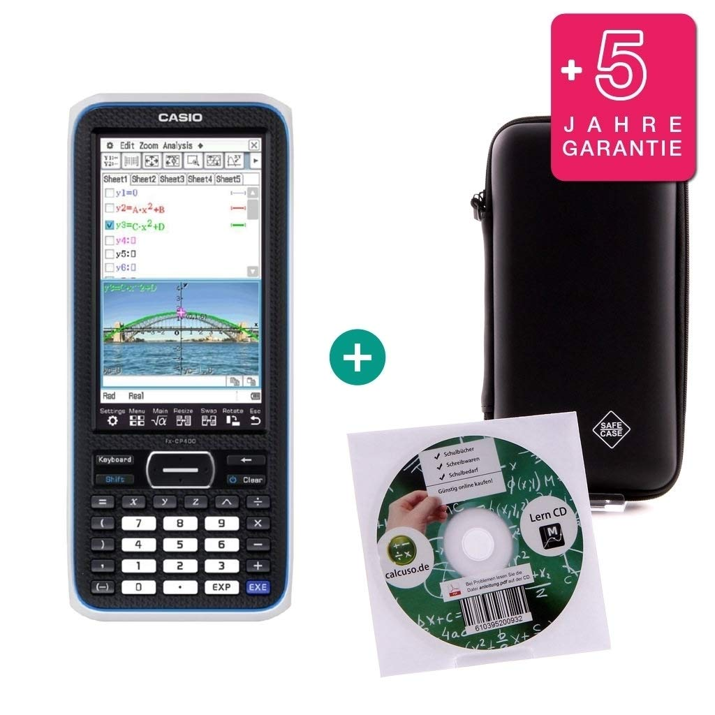 TI Nspire CX CAS Taschenrechner Grafikrechner Schutztasche Garantie