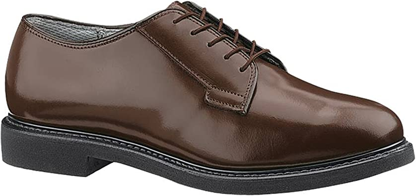 Leather Oxford Shoes Brown 9 EE
