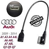 Audi A3A4A5A6A8Q5Q8Q7Interfaz de música MDI MMI AMI USB Cable de sincronización de datos