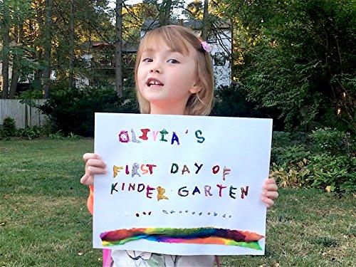 A kindergarten sign