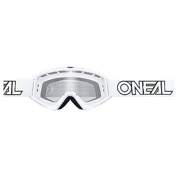 ONeal B-Flex Goggle weiss Moto Cross Brille Mountainbike DH MTB MX Downhill Quad