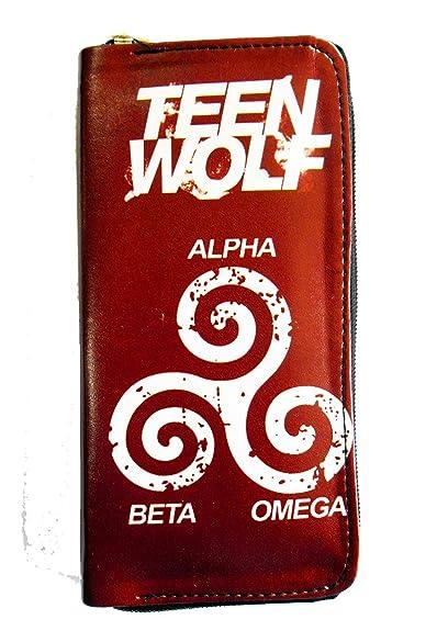 Amazon com: Teen Wolf Alpha Beta Omega Symbols Clutch: Shoes