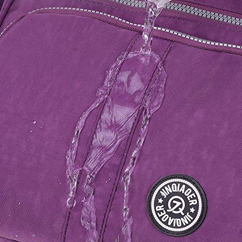 Sac Sac épaule Cours Sac MeCooler Sport Main Loisir Porté à Violet bandoulière Sac École Léger Besace Femme Sacoche pour Bag Imperméable de dqWqwPECx