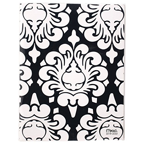 Mead 2018-2020 Academic Year Monthly Planner, Large, 10-7/8 x 8-3/8, Simplicity, Design Will Vary (CAM50210)
