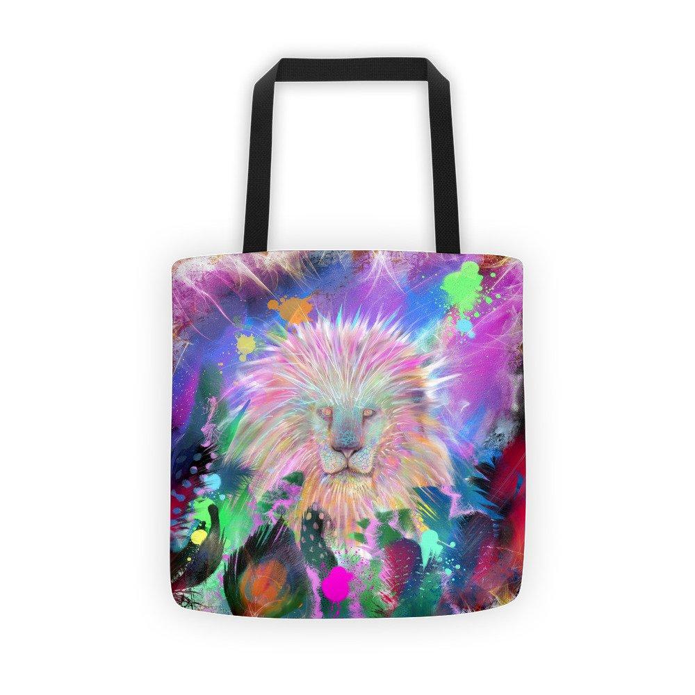 Lion Head Art Tote bag