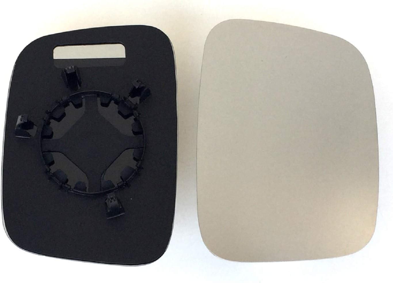 Carpentis Compatible Con Caddy A/ño De 2004 Hasta 2019 incalefactable Para Manual Espejo Exterior Apropiado Espejo Cristal Espejo Derecho pro