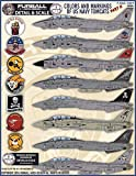 FURDS4809 1:48 Furball Aero Design F-14A F-14B Tomcat 'Colors and Markings of US Navy Tomcats' Part II [WATERSLIDE DECAL SHEET]