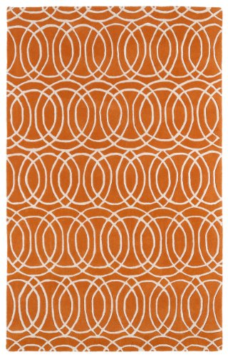 Kaleen Revolution Collection Overlapping Circles Indoor Area Rug 61UqN vcKNL