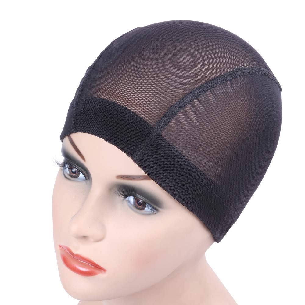 Amazon Com Black Mesh Cap For Making Wigs Stretchable Hairnets