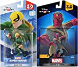Marvel Infinity Super Hero Bundle Avengers Vision Character Figure & Iron Fist Hero combo Pack