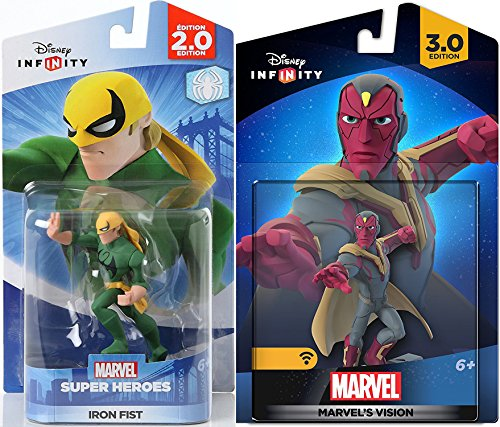 - Marvel Infinity Super Hero Bundle Avengers Vision Character Figure & Iron Fist Hero combo Pack