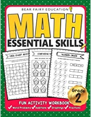Math Essential Skills for Grade 2, Activity Workbook for Kids, 2nd Grade Math Workbook: Math workbooks grade 2